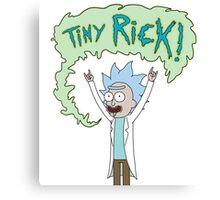 TINY RICK! Canvas Print