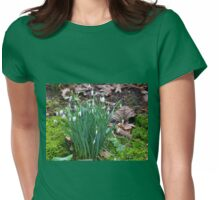 New life among withered leaves..Dorset UK Womens Fitted T-Shirt