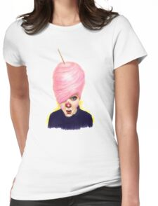 Fairyflosstastic Womens Fitted T-Shirt