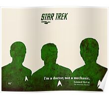 Star Trek Green Poster