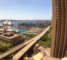 Australia - Sydney - Fish Eye on iPhone 6S - from Shangri-La Sticker