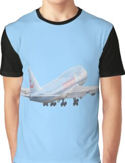 Boeing 747 take off Graphic T-Shirt