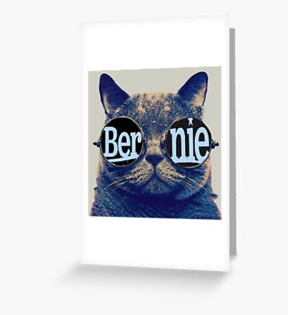 Bernie more purr Greeting Card