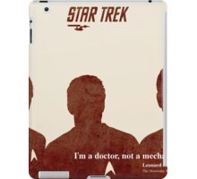 Red Star Trek, Kirk iPad Case/Skin