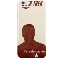 Red Star Trek, Kirk iPhone Case/Skin
