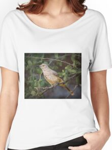 Curved-bill Thrasher: BL9A6330 Women's Relaxed Fit T-Shirt