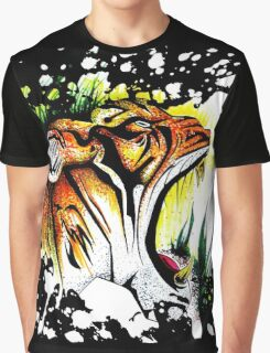 Tiger In The Wild Graphic T-Shirt