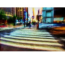 Twilight NYC Abstract Photographic Print