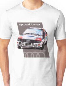 Audi Quattro Rally Drawing - Warm Unisex T-Shirt