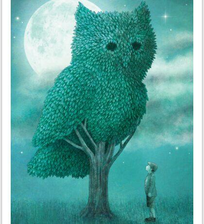 The Night Gardener - Cover Sticker