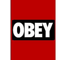 OBEY - Alternate Photographic Print