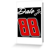 Dale Jr. 88 Greeting Card