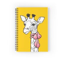 Ms Giraffe Spiral Notebook