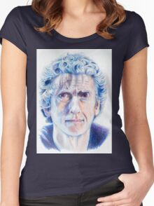 Twelfth Doctor Women's Fitted Scoop T-Shirt