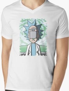 The Son Of Science Mens V-Neck T-Shirt