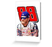 Dale Earnhardt Jr Greeting Card