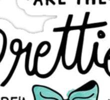 Audrey Hepburn - Quote Sticker