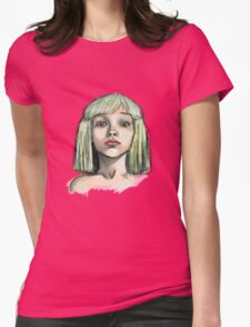 chandelier Womens Fitted T-Shirt