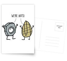 Nuts Postcards