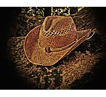"""""""IT'S ALL ABOUT THE HAT""""... prints and products Photographic Print"""
