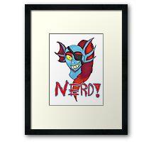 Undyne NERD! Framed Print