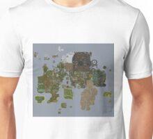 Runescape 2015 World Map Unisex T-Shirt