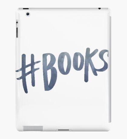 #Books | Watercolor Typography Tumblr/Trendy iPad Case/Skin