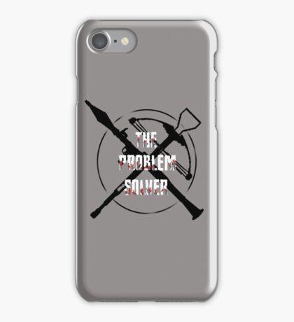 Daryl Dixon Problem Solver (WalkingDead) iPhone Case/Skin
