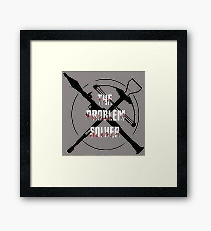 Daryl Dixon Problem Solver (WalkingDead) Framed Print