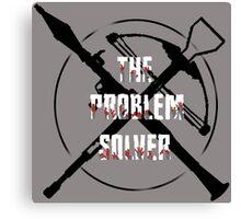 Daryl Dixon Problem Solver (WalkingDead) Canvas Print