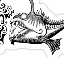 Angler Fish in Pen Sticker