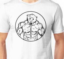 Muscle Zoo Polar Bear Unisex T-Shirt
