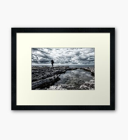 Air, Water and Earth Framed Print