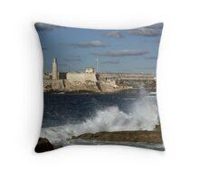 Morro Castle Throw Pillow