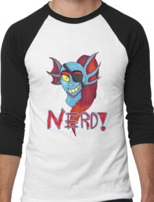 Undyne NERD! Men's Baseball ¾ T-Shirt