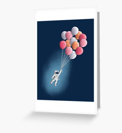 Freefloater Greeting Card