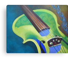 Lemon Violin Canvas Print