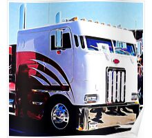 Cabover Truck  Poster