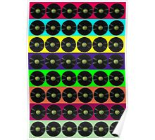 Apple vinyl Poster