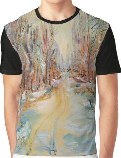 ATV Trail Through The hardwoods Graphic T-Shirt