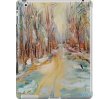 ATV Trail Through The hardwoods iPad Case/Skin