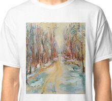ATV Trail Through The hardwoods Classic T-Shirt