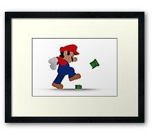 Mario Bros. Framed Print