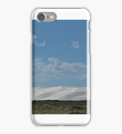 White Sand Dunes at Lancelin iPhone Case/Skin