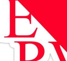 Neon Genesis Evangelion - NERV Logo Sticker