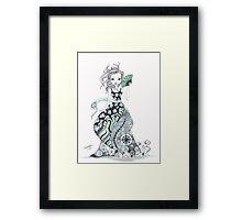 The Lady of Abernathy Framed Print