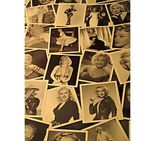 Marilyn Collage Photographic Print