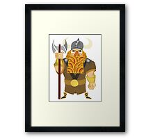 Dwarf Viking Framed Print