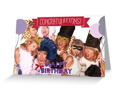 happy birthday taylor swift Greeting Card
