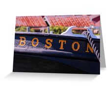 From Boston Greeting Card